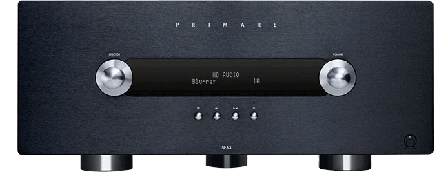 Primare SP33 Audiophile A/V processor